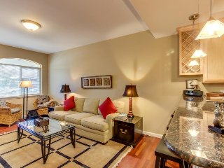 Spacious townhome in lovely neighborhood provides cozy home base!