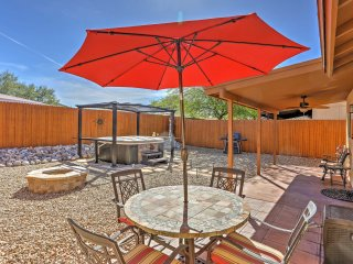 NEW! 2BR Tucson House w/ Hot Tub and Firepit!
