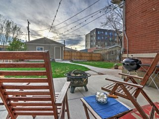 NEW! 1BR Denver Townhome Near Mile High Stadium!