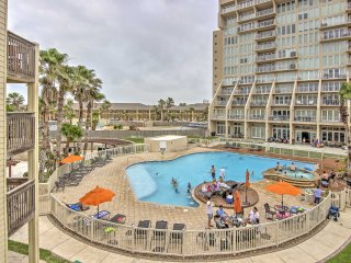 NEW! 3BR South Padre Condo on Private Beach!