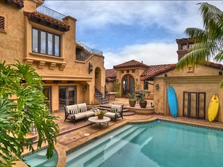 Newport Beach Mediterranean Masterpiece   Offers One-of-a-Kind Views