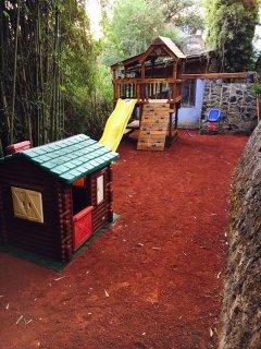 Área de juegos para niños