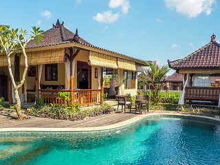 Devi's Place Ubud- spacious peaceful 3 BDR Villa Shanti - great views & internet, Sayan