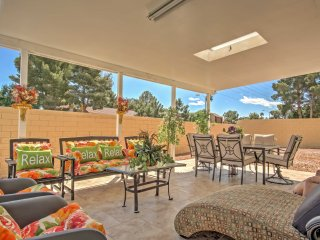 Charming Henderson House w/ Front & Back Patios!