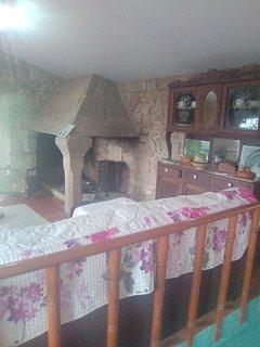 Casa da Costa. Vivienda turística en Esteiro. Solárium. Chimenea. Huerta íntima.