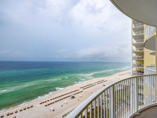 Gulf FRONT for 6! OPEN 9/18-9/25-Twin Palms 1203 1BR+Bks-Pool- Balcony Views!