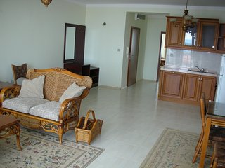 Spacious well-equipped apartment near to the beach