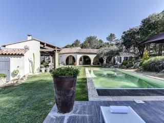 Bastide provencale contemporaine avec piscine a La
