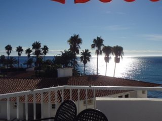 Apartment in Nerja 40 m from Torrecilla beach, Sea views, Pool, AC, 2-4 persons