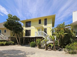 Beach side stilted home in Sunset Captiva