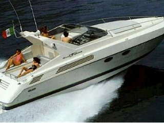 Day charter with Skipper & Petrol Cannes Motor Yacht 14 meters