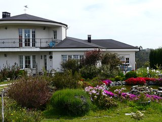 Villa Betania, en un paraje maravilloso para disfrutar del mar y de Asturias