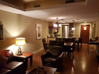 2 Bed/2Bath ground floor condo in the luxury Solara Resort, Canmore