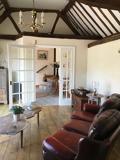 Shepherds Barn is a haven of peace and tranquility surrounded by green fields and local wildlife.