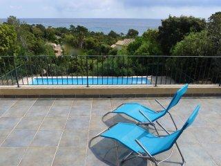 Belle Villa - vue magnifique sur la mer - 5 minutes à pied de la plage