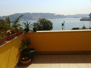 Sea view apartment in the center of Rovinj