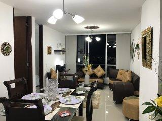 Arriendo hermoso apartamento, moderno y comodo, totalmente amoblado en Pereira