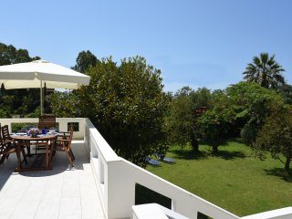 Lovely spacious Villa with garden steps from Sea