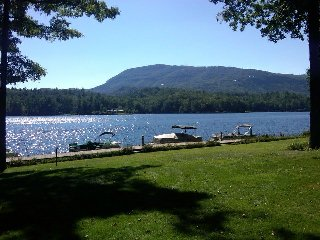 Relaxing Lakefront Villa with Sunset Water View, Fireplace and Mountain View!, Lake Toxaway