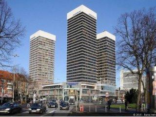 70 qm renovierte Wohnung im Mundsburg Tower, Amburgo
