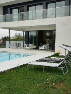 preciosa casa diseño para familias