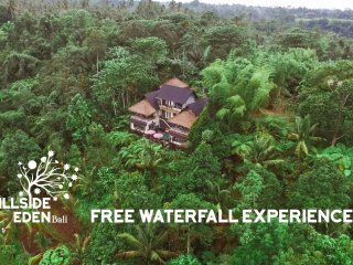 Hillside Eden Bali - Private Jungle Estate - Stunning Service & Views