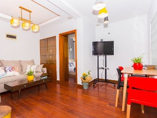 Charming & bright 3 bedroom apt in Putuo, Shanghái