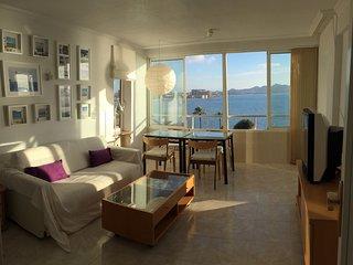 Soleado apartamento con piscina y preciosas vistas al Mar Menor (Brasiliana 809)
