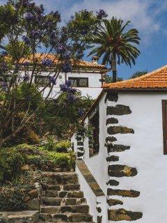 Blick von der Finca Bella Sombra auf das Casa Lila
