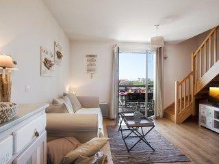 Appartement élégament décoré - 1ère ligne mer – piscine – Jacuzzi   - Wifi, Biscarrosse