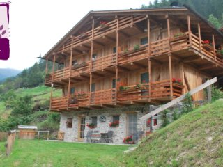 Chalet in Rabbi sleeps 4 ID 243
