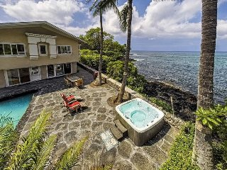 Lyman's Hale - Oceanfront/Private Pool/AC/Jacuzzi/ Lanai/ Update: + Studio Room