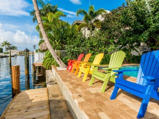 Beach House Terra Mar - Waterfront, Heated Pool and Private Beach!, Lauderdale by the Sea