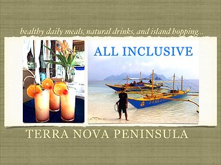 TERRA NOVA EL NIDO Luxury Beachfront Villa - ALL-INCLUSIVE W/ ISLAND TOURS