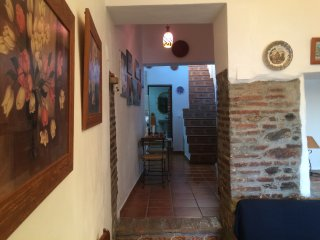 La casa de la abuela- Nice aparment of 1 bedroom with a large roof terrace