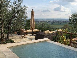 Luxury Tuscan Villa, Villa Francesca,   Cortona Tuscany