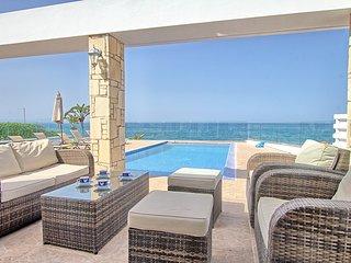 Beachfront Villa Aqua Marina