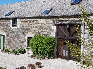 Beautifully converted barn in Normandy, France, sleeps 14 over two floors, Carrouges