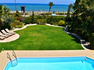 Front Line Villa Latchi Beach - Amazing Sea Views - Private Pool- Opposite Beach