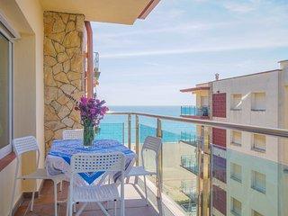 Appartement directement a la plage de Santa Susanna, Piscine communitaire