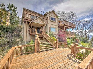 Lake Arrowhead Home w/ Deck & Lake Views Near Golf