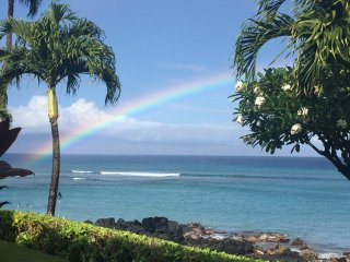 Oceanfront unit with view of Molokai and Lanai available 6/9-6/16 2017