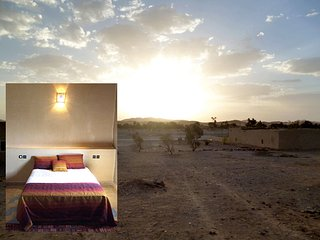 Belle chambre  double, dans maison face aux dunes