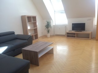 Penthouse Loft in Prague Center 3 bdrms, 1 ba 2 WC