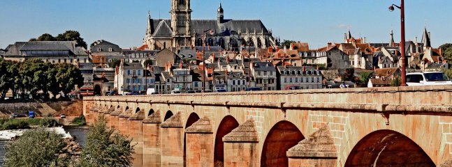 The city of Nevers and it's stunning cathedral is only 29 minutes away.