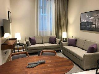 One bedroom mezzanine apartment - Sanctum, Belsize Road, London