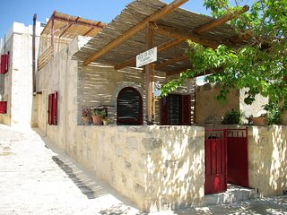 Beautiful Stone 'House Potami'  for perfect holiday in Cretan village ambience!