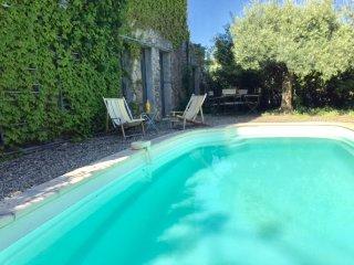 Gite de Charme 8 personnes piscine Canal du Midi, Pouzols-Minervois