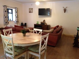 A 'Forest View' in to Kings Forest; a well equipped self catering holiday home., West Stow