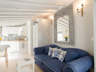Upper Marais apartment for three, very private